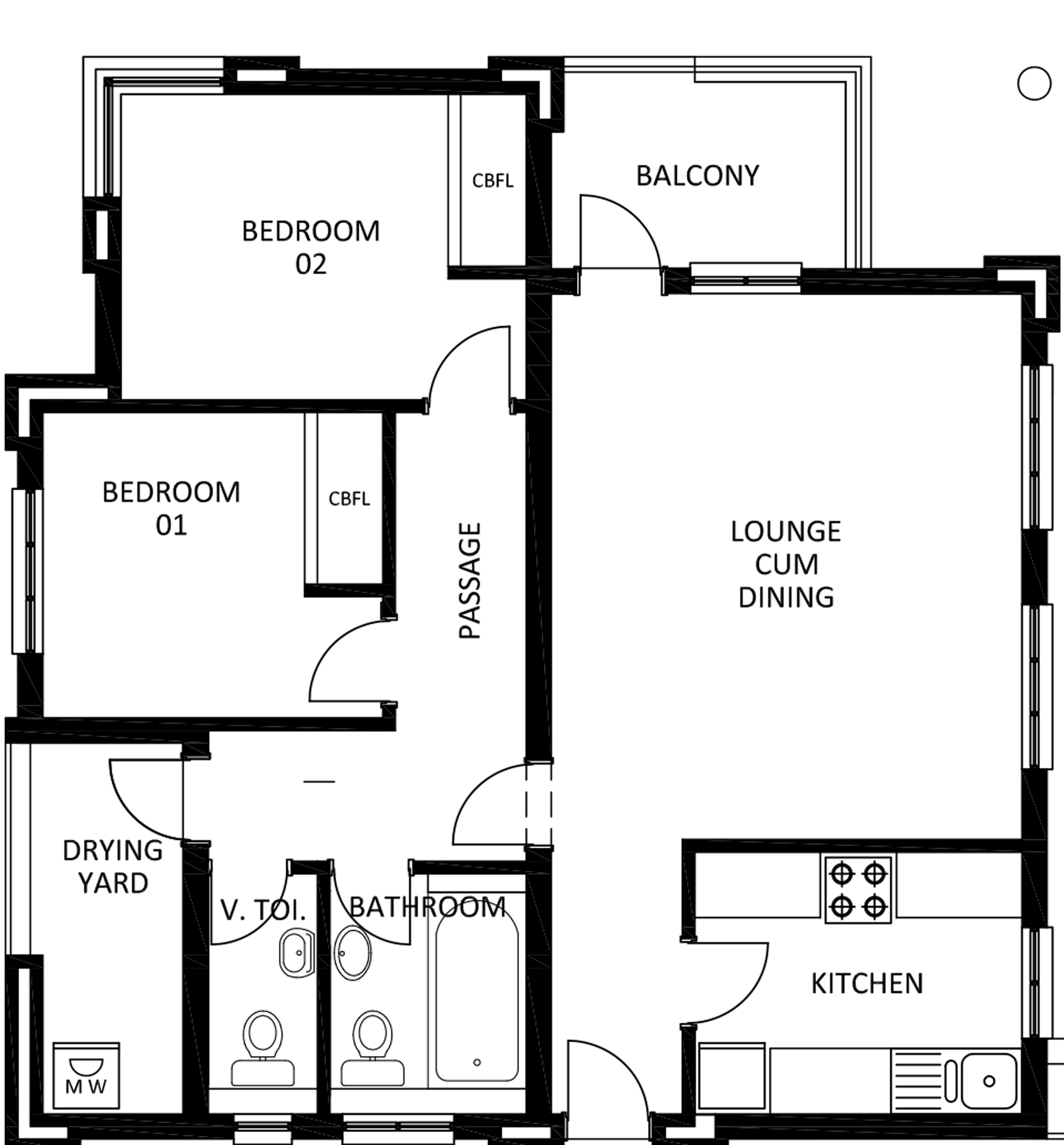 Image Result For House Plans With Two Kitchens